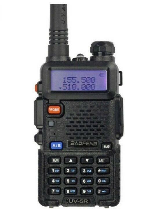 Radio Scanner Handheld Police Fire 2-Way Portable Transceive