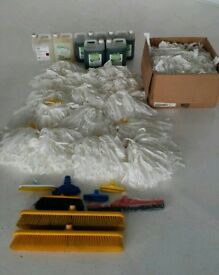 Job lot of cleaning supplies
