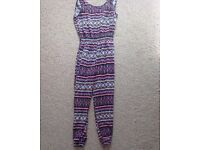 Girls jumpsuit age 7-8 years