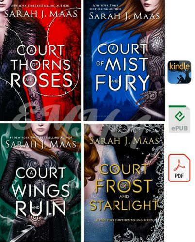 A Court of Thorns and Roses Series [1-4] COLLECTION by Sarah J. Maas (DIGITAL)