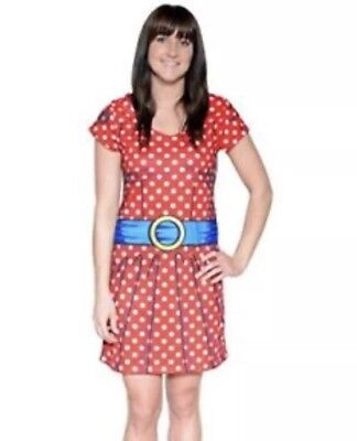 Faux Real Funny Fancy Dress Cartoon Character Minnie Mouse Rrp £28 Size Small - Real Minnie Mouse Costume