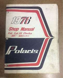POLARIS 1976 SLED SHOP MANUAL