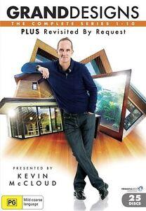 Grand Designs Series Seasons 1, 2, 3, 4, 5, 6, 7, 8, 9, 10 DVD Box Set R4