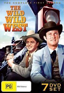 THE WILD WILD WEST - SEASON 1 (7DVD SET) BRAND NEW SEALED REGION 4