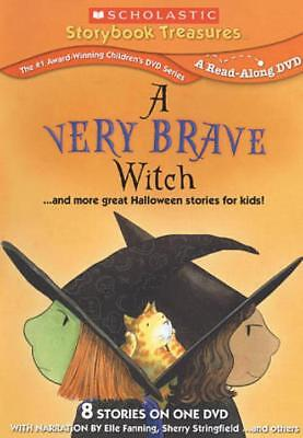 A VERY BRAVE WITCH... AND MORE GREAT HALLOWEEN STORIES FOR KIDS! NEW DVD