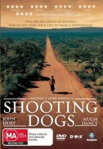 SHOOTING DOGS, JOHN HURT HUGH DANCY, REGION 4, NEW & SEALED FREE POST