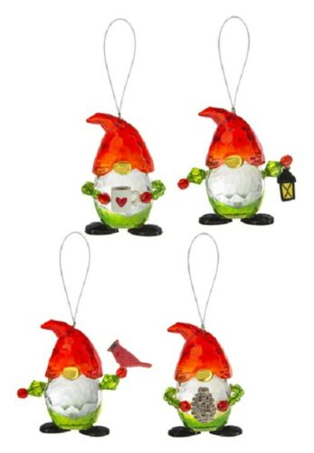 Ganz Crystal Expressions Christmas Gnome Figurine Pick 1 Cardinal Lantern Mug