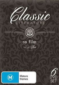 D7 NEW SEALED Classic Literature On Film Collection ANNA KARENINA JANE EYRE