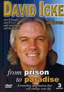 From Prison To Paradise - David Icke Live, Conspiracy, on Plain DVD-R