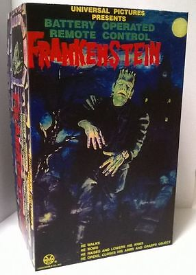 Custom Vintage Style Marx 1960's Battery Operated Frankenstein Box