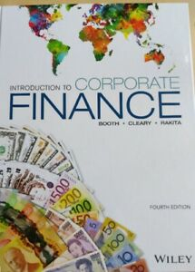 Introduction to corporate finance, 4th edition, Booth