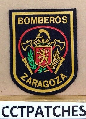 ZARAGOZA, SPAIN BOMBEROS FIRE & RESCUE PATCH