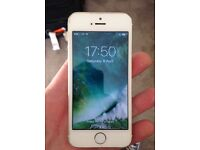 White & Gold iPhone 5s - 16GB - EE