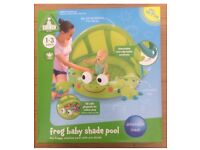 ELC Frog Baby Shade Pool Toy - NEW