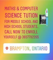 Maths and computer science tutor
