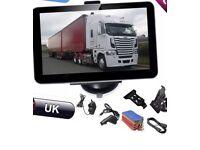 "Noza Tec 7"" 8GB Truck/Car/van/Bus GPS Navigation Navigator SAT NAV EU UK Map(Brand New)"