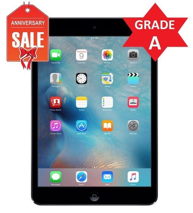 Apple iPad mini 2 128GB, Wi-Fi, 7.9in - Space Gray - Grade A Condition (R)