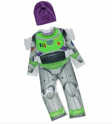 Disney-toy Story Kostüme (NEW Boys Disney Toy Story Buzz Lightyear Fancy Dress Up Costume Age 5 - 6 Years)