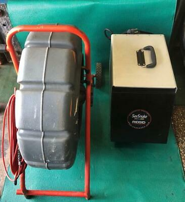 Ridgid Seesnake 71rk With Lcd Monitor With Vcr 63-004309