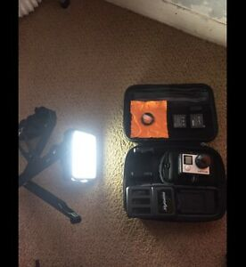 GoPro Hero 4 Black Edition with Lots of Accessories