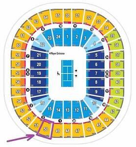 2x Australian Open Tickets - Round 4, 22 Jan 2017, Rod Laver Footscray Maribyrnong Area Preview