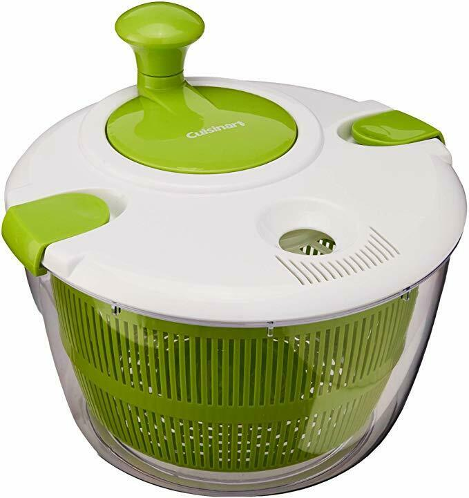 NEW!!! Cuisinart CTG-00-SAS Salad Spinner, Green and White