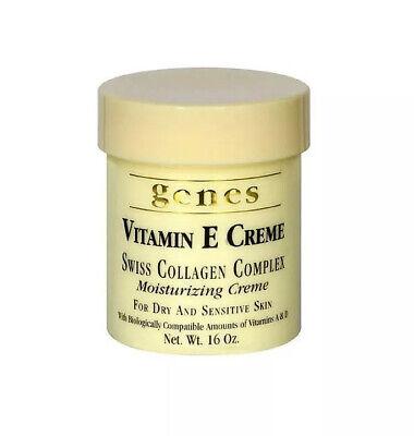 Genes Vitamin E Swiss Collagen Complex Moisturizing Creme Dry Skin - 16 oz