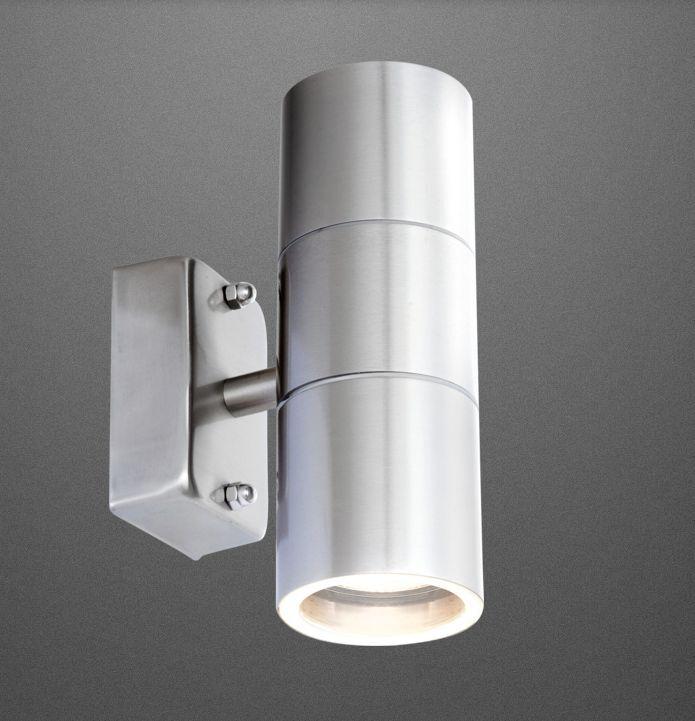 led 5 watt 420 up down aussenleuchte aussenlampe lampe edelstahl 10300 3201 2 eur 22 41. Black Bedroom Furniture Sets. Home Design Ideas