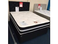 Kashmir Memory Foam Divan Set ONLY £235 IN DOUBLE (4FT6')