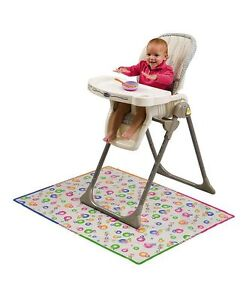 High Chair Mat Ebay