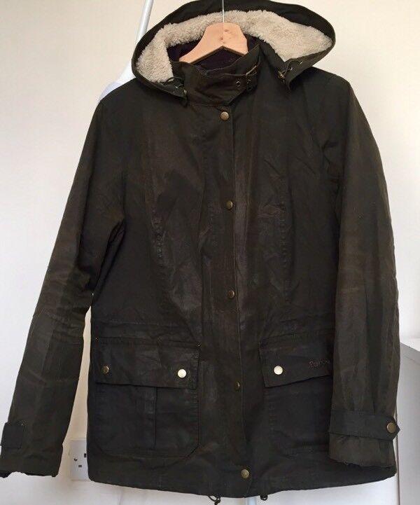 Ladies Barbour wax jacket