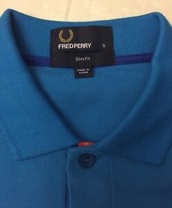 Designer Fred Perry polo shirt authentic! NWT Cambridge Kitchener Area image 4