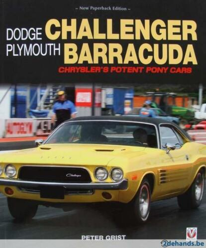 boek : Dodge Challenger & Plymouth Barracuda