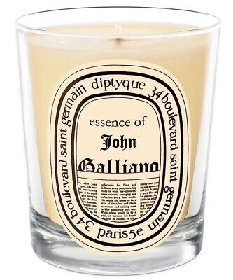 DIPTYQUE John Galliano 190g candle BRAND NEW rare £49 essence