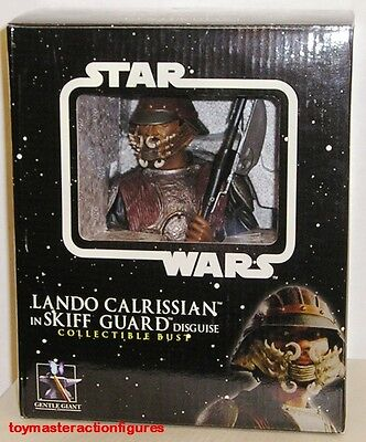 GENTLE GIANT 2006 STAR WARS LANDO IN SKIFF GUARD DISGUISE MINI BUST In Stock