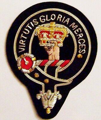 Royal Scottish Scotland Clan Donnachaidh Robertson Crest Family Name COA Patch X