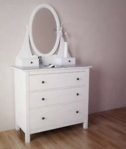 Ikea Hemnes chest Drawers with Mirror Melbourne CBD Melbourne City Preview