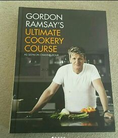 NEW RRP £25 Gordon Ramsay's Cookery Course Hardback