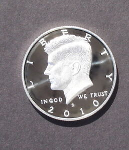 2010 S Silver Kennedy proof