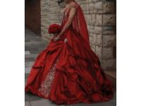 Red Wedding Dress (Size 6-8)