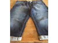 Boys Levi's 511 denim shorts. Aged fourteen years. Immaculate