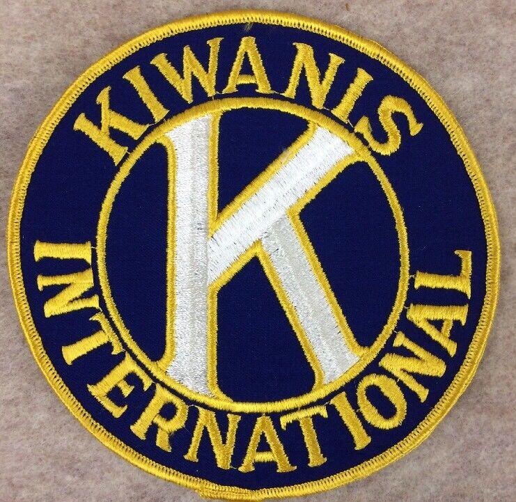 Kiwanis International patch Large Fraternal Organization Memorabilia .