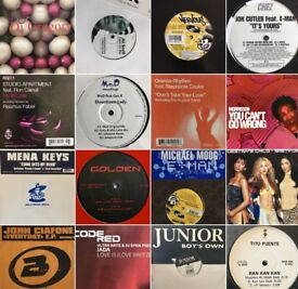 Soulful House & Garage U.K. and USA Vinyl collection