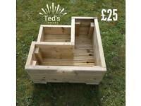 2 tier quality planter decking