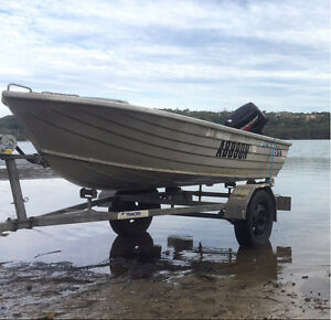 11ft Savage Tinny Hull and Trailer Collaroy Manly Area Preview