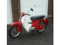 Honda cub c70 stepthrew c50 c90 super cub c100 moped learner t80