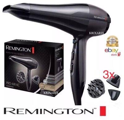 Remington AC5999 Asciugacapelli Professionale, 2300 W Phon ioni PRO AIR (VIDEO)