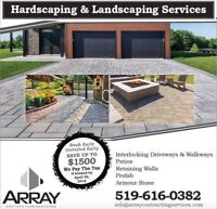 Hardscaping and Landscaping Services
