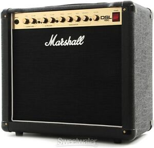 Amplificateur combo Marshall DSL15C comme neuf avec footswitch