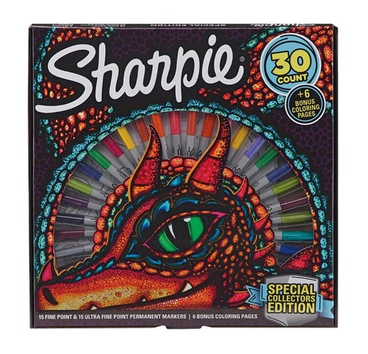 Sharpie Special Collectors Edition Permanent Markers Gift Set
